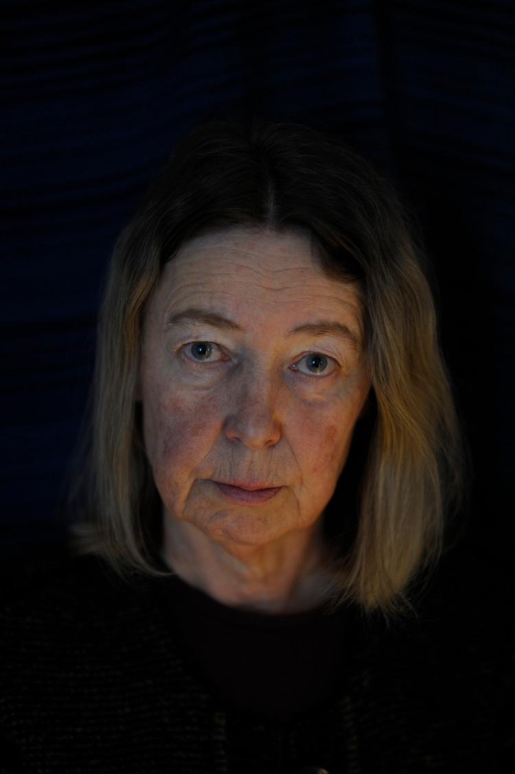 portrait de Annika Forsberg shot in studio conditions
